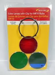 malibu path u0026 landscape lights colored lens and metal clip 8100