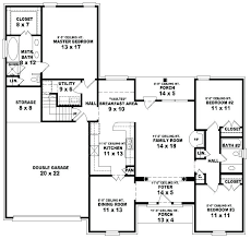 4 bedroom 3 5 bath house plans 1 story 5 bedroom house plans best 5 bedroom house plans ideas on 4