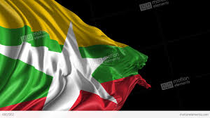 Myanmar Flag Photos Flag Of Burma Myanmar Stock Animation 6937357