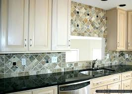 kitchen backsplash granite backsplash for black granite countertops antiqued with black granite