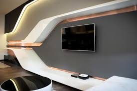 Entrancing  Futuristic Bedrooms Decorating Design Of - Futuristic bedroom design