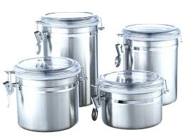 kitchen canisters stainless steel steel kitchen storage containers free shipping stainless steel
