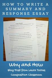 write a response paper help on writing a research paper how to write a research essay best ideas about research paper college why to assign summary and response essays before a research