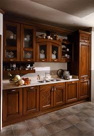 traditional kitchen wooden ecological etrusca aran cucine