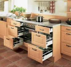 drawers for kitchen cabinets modern kitchen cabinets with drawers and modern light wood built in