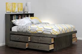 bed frames twin platform bed storage twin bed with drawers inside