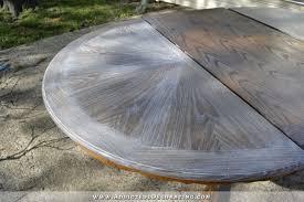 Limed Oak Dining Tables Cerused Oak Dining Table Table Makeover U2013 Finished