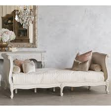 canap style cagne chic clignancourt daybed in antique white king louis xv