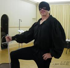 zorro halloween a quiet little life how to be the dread pirate roberts on a