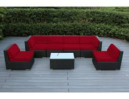 Outdoor Resin Wicker Furniture by Beautiful Outdoor Patio Wicker Furniture Deep Seating 7pc Couch