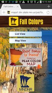 mn bike trail navigator times places fall color
