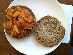 thanksgiving soy curls with vegan oil free vegan breakfast sausage patties made with soy curls