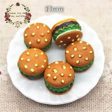 simulation 3d cuisine 10pcs kawaii 3d resin hamburg miniature simulation food f diy