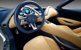 2011 Nissan Electric Sports Concept Car Interior Wallpaper Hd