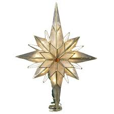 lighted tree topper decor