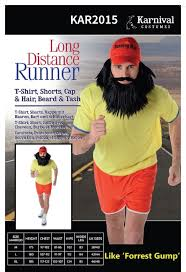 forrest gump costume distance runner forest gump party costume