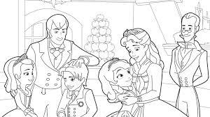 princess sofia coloring pages castle coloringstar