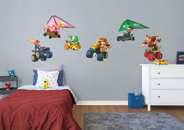 mario kart collection wall decal shop fathead for mario decor mario kart collection fathead wall decal
