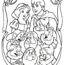 snow white coloring pages printable white coloring pages