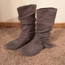 womens xappeal boots 74 xappeal shoes x appeal lylah gray boots from sharee s