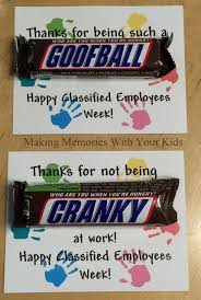 gift ideas for employees snickers candy bar gift idea classified employees week