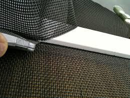 Patio Screen Door Repair Repairing A Sliding Screen Door Home Decorating Interior