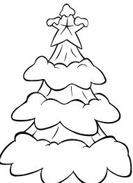 free coloring pages christmas snow in a tree christmas coloring