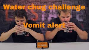Challenge Vomit Water Chug Challenge Vomit Alert