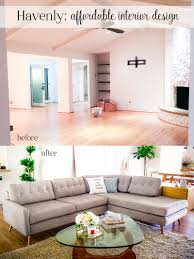 Design Blogger by Living Room Reveal Havenly Review Cute U0026 Little Dallas