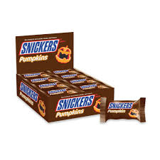 gourmet halloween chocolate amazon com snickers halloween pumpkin singles chocolate candy