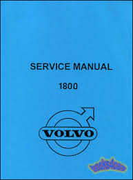 volvo 1800 manuals at books4cars com