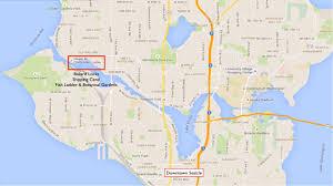 Map Of Greenlake Seattle by Ballard Locks Map20988 001 Jpg