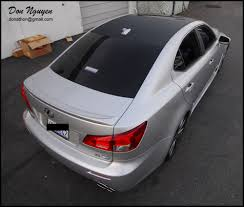 lexus is 250 roof rack don nguyen norcal bay area vinyl wrapping tour september 1st