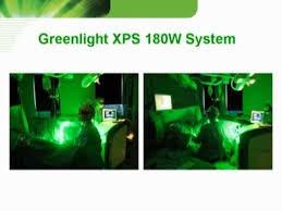 green light laser treatment greenlight xps 180w prostate laser treatment of male bph benign