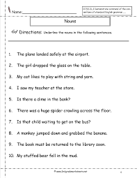 proper nouns worksheet 2nd grade worksheets