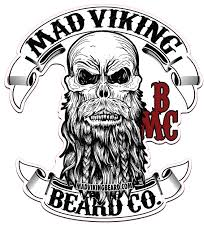 mad viking logo sticker 11