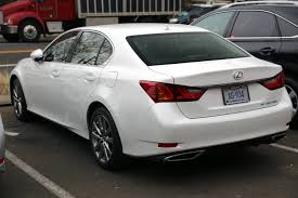 lexus gs 350 models file 2014 lexus gs350 awd rear jpg wikimedia commons