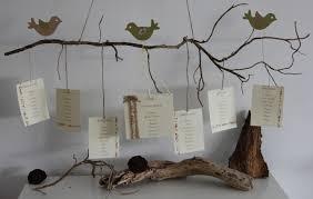 dã coration de table de mariage plan de table décoration de mariage baptême thème nature et