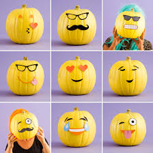 pumpkin decoration images make diy emoji pumpkins with our free printables mr potato head