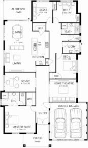 floor plans for one story homes single floor home plans fresh house plans bedroom one story homes