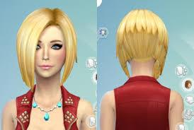 custom hair for sims 4 sims 4 custom hair hairstyles 19 non default hair recolors from