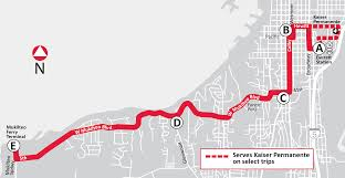 Evcc Campus Map Route 18 West To Mukilteo U0026 East To Everett Station Everett