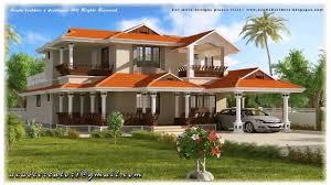 kerala style 2 storey house plans youtube
