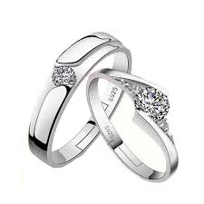 love rings design images Women and men silver plated ring female couple rings women cz jpg