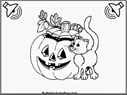 Childrens Halloween Coloring Pages by Realistic Halloween Coloring Pages Realistic Coloring Pages
