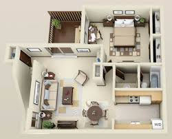 One Bedroom Apartment Layout Best One Bedroom Apartments U2013 Home Design Inspiration