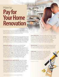 april newsletter how to pay for your home renovation homes by