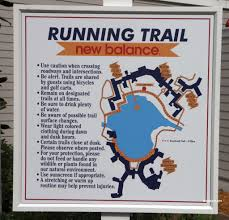 Disney World Epcot Map Running Jogging Trails And Tips