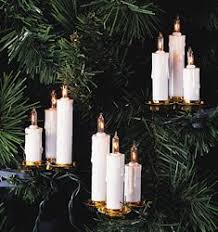 astonishing decoration tree candle lights flicker