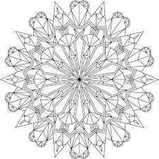 crystal morning coloring page